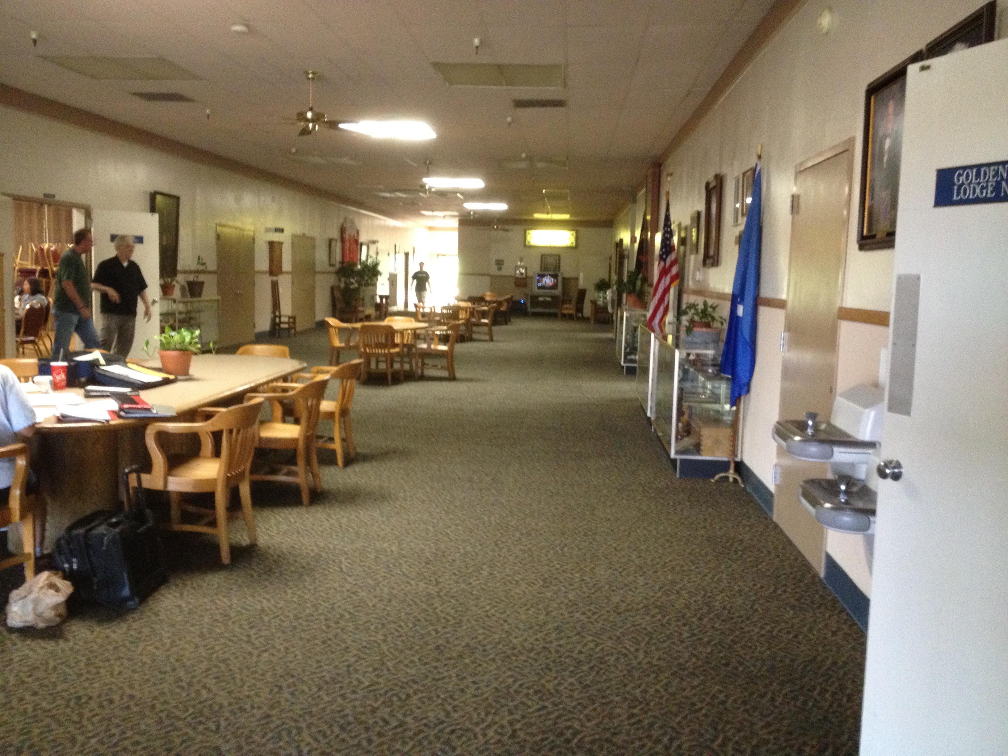 San Jose Masonic Center   Large Lobby